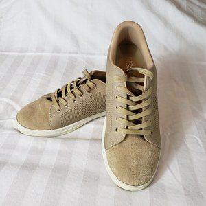 J/Slides Tan Lace Sneaker